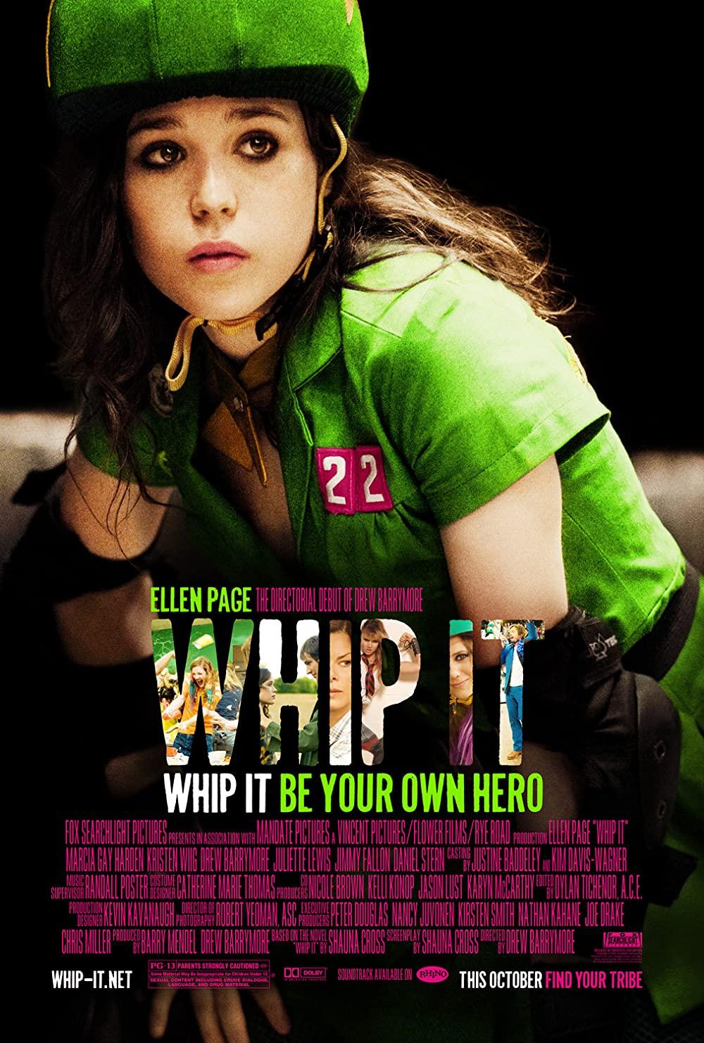 Whip It (2009) วิปอิท สาวจี๊ด หัวใจ 4 ล้อ