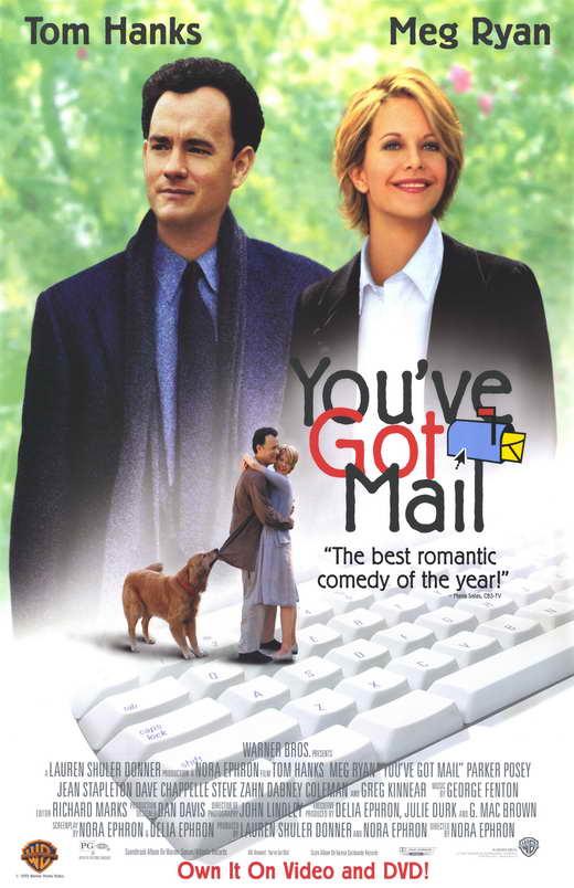 You've Got Mail (1998) เชื่อมใจรักทางอินเตอร์เน็ท